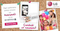 LIBERA LA TUA CREATIVITA' CON LG POCKET PHOTO