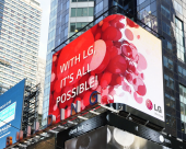 "CON LG ELECTRONICS ""IT'S ALL POSSIBILE"""
