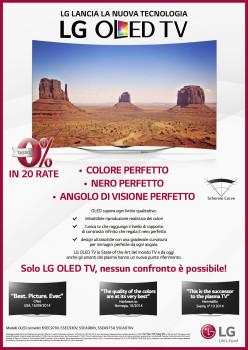 I TV OLED LG A TASSO ZERO