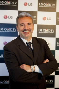 STEFANO LANZONI ENTRA IN LG COME HOME ENTERTAINMENT SALES DIRECTOR