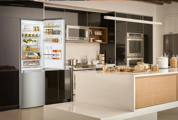 Il design incontra il freddo il frigorifero con finitura - Mobile frigo incasso ...