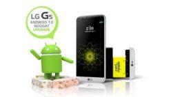 LG INIZIA LA DISTRIBUZIONE DI  ANDROID™ 7.0 NOUGAT PER LG G5