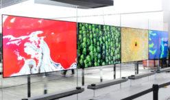 LG SIGNATURE OLED TV SERIE W PROIETTA IL DESIGN  DEI TV IN UNA NUOVA DIMENSIONE AL CES 2017