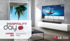 LG ALL'HOSPITALITY DAY DI RIMINI:  LE PROPOSTE DELLA LINEA HOTEL TV PER UNA CUSTOMER EXPERIENCE PERSONALIZZATA