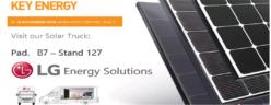 LG PARTECIPA AL KEY ENERGY 2019 A RIMINI  E PRESENTA LE ULTIME NOVITÀ DEI MODULI SOLARI