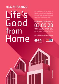 LG INVITA ALL'IFA 2020 ONLINE