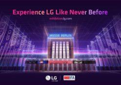 IFA 2020: LG INAUGURA IL PROPRIO STAND VIRTUALE