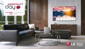 LG ALL'HOSPITALITY DAY DI RIMINI:  HOTEL TV DALLE IMMAGINI PERFETTE, DESIGN ALL'AVANGUARDIA E TECNOLOGIA AVANZATA