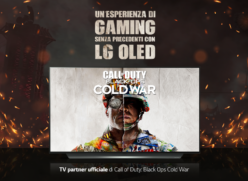 LG PARTNER DI ACTIVISION PER IL LANCIO DI  CALL OF DUTY: BLACK OPS COLD WAR®
