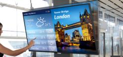 LG e DISPLAX insieme per la realizzazione di un nuovo  PCAP Touch Screen Overlay